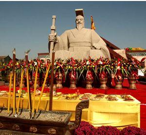 HuangDi-Achievements-Statue