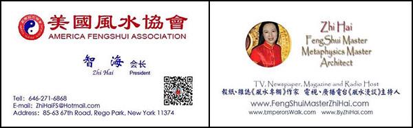 FengShui Master Zhi Hai business cards- (ZeeHi)
